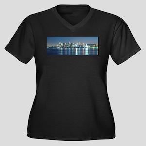 Montreal le soir Plus Size T-Shirt