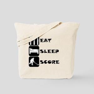Eat Sleep Score Tote Bag