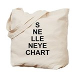 Vertical Eye Tote Bag