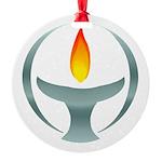 Metalic Chalice Ornament