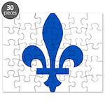 FleurLysQc1PMS293 Puzzle
