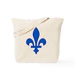 FleurLysQc1PMS293 Tote Bag