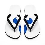 FleurLysQc1PMS293 Flip Flops