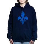 FleurLysQc1PMS293 Hooded Sweatshirt