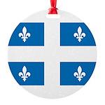 DrapeauQc1 Ornament