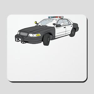 Cop Car Mousepad