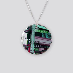 'Broadway Dreams' Necklace Circle Charm