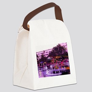 October In LA Canvas Lunch Bag