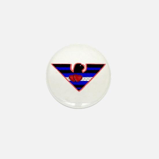2 HEARTED LEATHER EAGLE 2 Mini Button