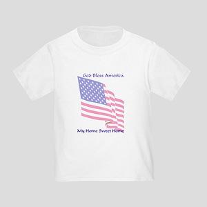 God Bless America Toddler T-Shirt