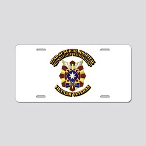 22nd Surgical Hospital Aluminum License Plate