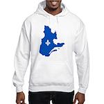 CarteQc1AvecLysPMS293 Hoodie Sweatshirt