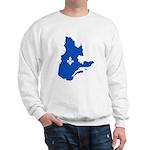 CarteQc1AvecLysPMS293 Sweater