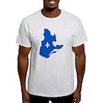 CarteQc1AvecLysPMS293 T-Shirt