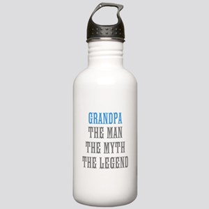 Grandpa The Man Myth Legend Water Bottle