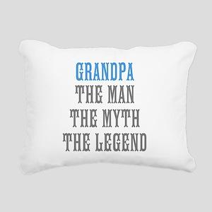 Grandpa The Man Myth Legend Rectangular Canvas Pil
