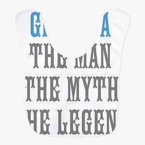 Grandpa The Man Myth Legend Bib
