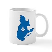CarteQc1AvecLys Mugs