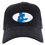 CarteQc1AvecLys Baseball Hat