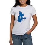 CarteQc1AvecLys T-Shirt