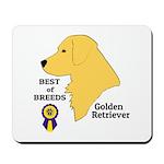 Golden Retriever Mousepad