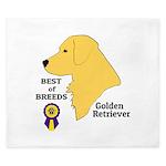 Golden Retriever King Duvet