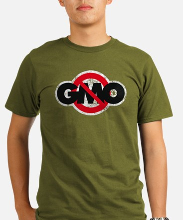 Stop GMO (distressed style) T-Shirt