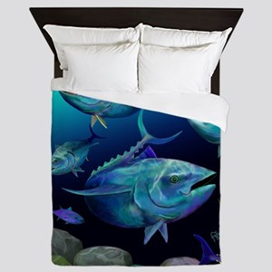 Blue Fin Tuna Queen Duvet