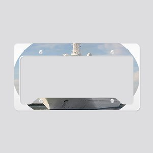 Cruise ship 4 (oval) License Plate Holder