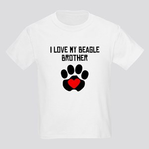 I Love My Beagle Brother T-Shirt