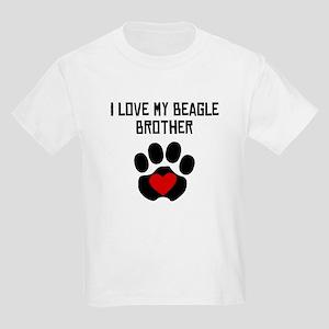 I Love My Beagle Brother T-Shirt