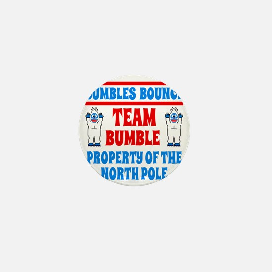 Bumbles Bounce Property of the North P Mini Button