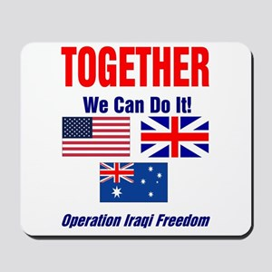 TOGETHER We Can Do It Mousepad