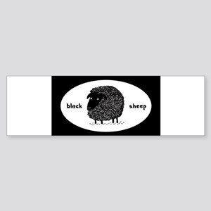 blacksheepsticker Bumper Sticker