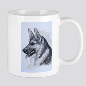 German Shepherd Dog Nightie-Night Mug By Hevener