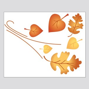 Falling Autumn Leaves Posters