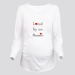 lovedaussie Long Sleeve Maternity T-Shirt