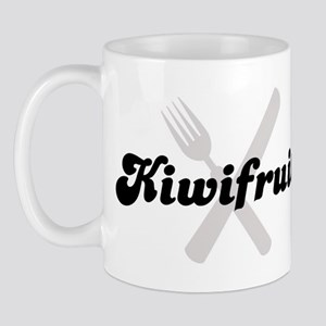 Kiwifruit (fork and knife) Mug