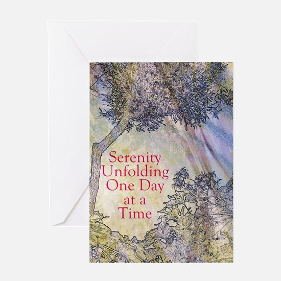 Serenity Unfolding Greeting Cards