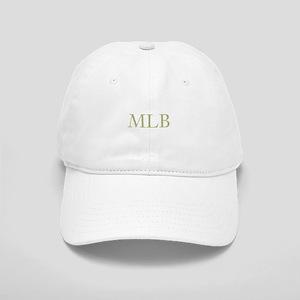 Gold Initials Baseball Cap