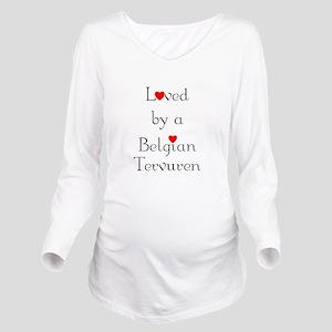 lovedbelgterv Long Sleeve Maternity T-Shirt