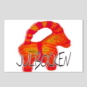 Julbocken the Yule Goat Postcards (Package of 8)