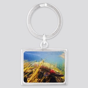 Rainbow Trout - Fly Fishing Landscape Keychain