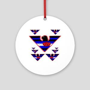LEATHER PRIDE EAGLE SQUADRON Ornament (Round)