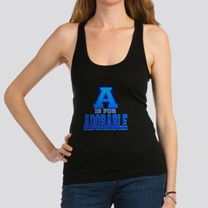 A is for Adorable Racerback Tank Top