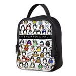 Penguinality3 Neoprene Lunch Bag