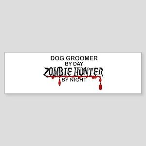 Zombie Hunter - Dog Groomer Sticker (Bumper)