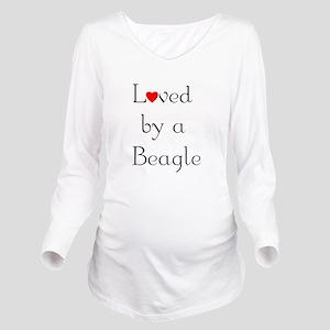 lovedbeagle Long Sleeve Maternity T-Shirt