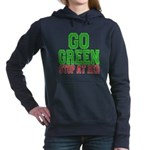 Go Green, Stop at Red.png Hooded Sweatshirt