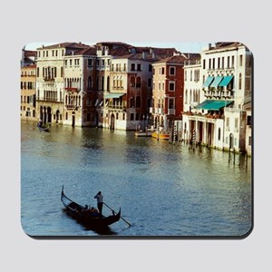 Venice Souvenir Gondola Ride on Grand Ca Mousepad